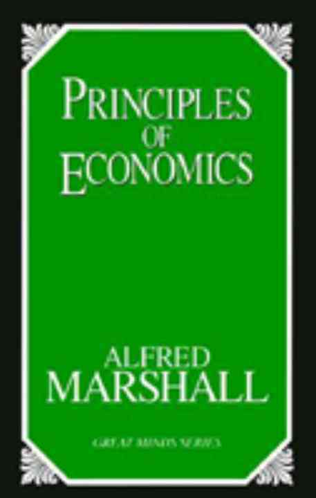 Principles of Economics By Marshall, Alfred